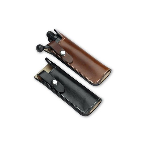 Middlebranch Leather Bolt Holster - Short Brown