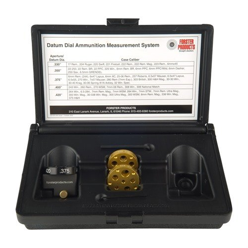 Datum Dial Ammunition Measurement System Complete Kit