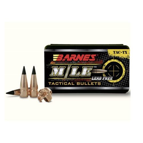 BARNES BULLETS BARNES M/LE TAC-X BULLETS 30 Caliber (0.308 ...