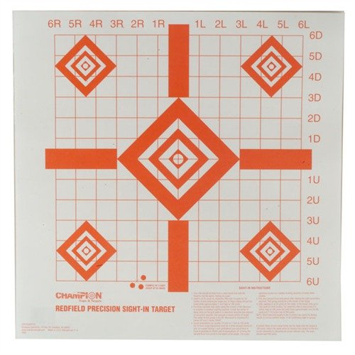 Redfield Sight-In Targets, 100