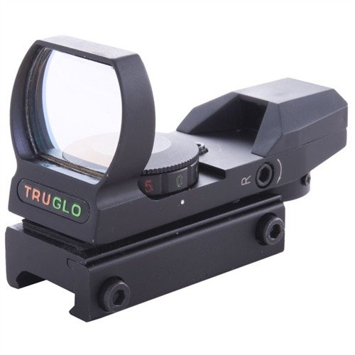 Multiple Reticle/Dual Color Open Red Dot Sight